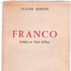 Libros: FRANCO - CLAUDE MARTIN . Lote 34854809