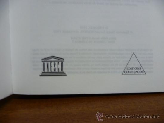Libros: UN MONDE NOUVEAU, Frederico Mayor - Editions ODILE JACOB - 1999 (en frances) - Foto 3 - 38790583