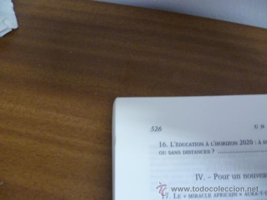 Libros: UN MONDE NOUVEAU, Frederico Mayor - Editions ODILE JACOB - 1999 (en frances) - Foto 5 - 38790583