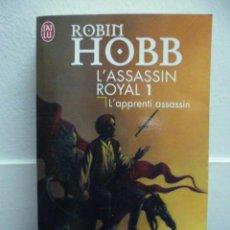 Libros: HOBB, ROBIN L'ASSASSIN ROYAL, 1. L'APPRENTI ASSASSIN, 1998 (EN FRANCES). Lote 39138601