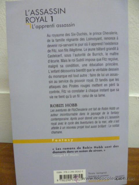 Libros: Hobb, Robin Lassassin royal, 1. Lapprenti assassin, 1998 (en frances) - Foto 2 - 39138601