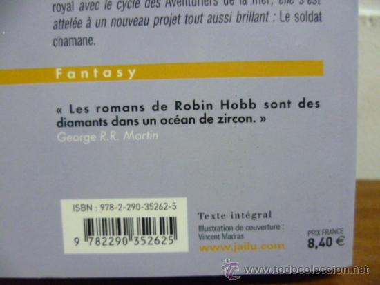 Libros: Hobb, Robin Lassassin royal, 1. Lapprenti assassin, 1998 (en frances) - Foto 3 - 39138601