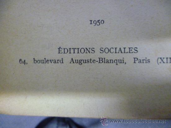 Libros: LIBRAIRIE JOSEPH GIBERT - Principes Elementaires de Philosophie, 1950 / 301 pag. (en frances) - Foto 4 - 39138970