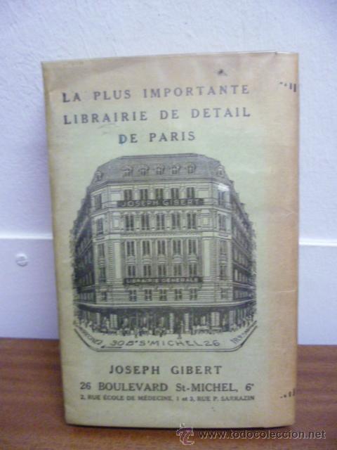 Libros: LIBRAIRIE JOSEPH GIBERT - Principes Elementaires de Philosophie, 1950 / 301 pag. (en frances) - Foto 10 - 39138970