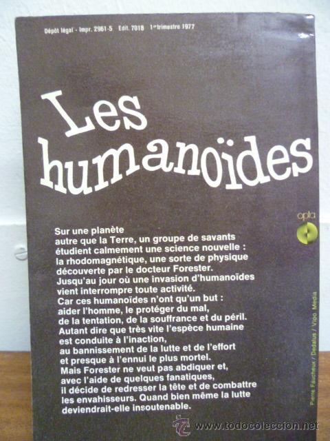 Libros: Les Humanoides - J. Williamson - 1971 (en frances) 408 pag. - Foto 3 - 39139309