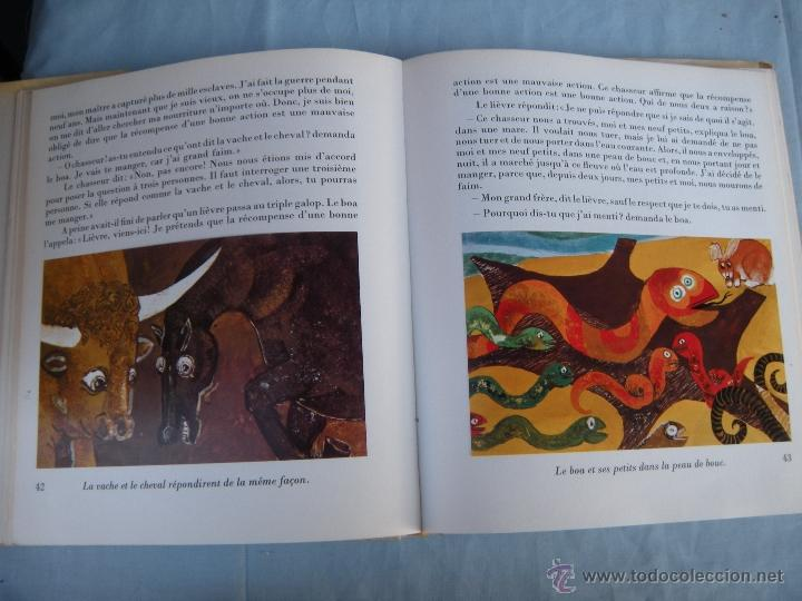 Libros: LIBRO. CONTES DES CINQ CONTINENTS. ADAPTADO POR RÉ ET PHILIPPE SOUPAULT. EN FRANCÉS. - Foto 3 - 40512475