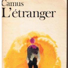 Livros: L´ ÉTRANGER. CAMUS. EDITIONS GALLIMARD 1957. (FRANCES). Lote 44009067