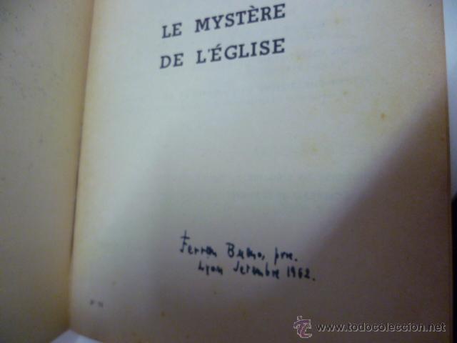 Libros: Le Mystere de L Eglise - R. Hasseveldt - 1953 (en frances) - Foto 4 - 44655568