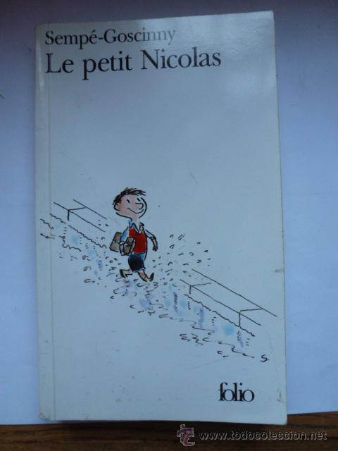 LE PETIT NICOLAS. SEMPE GOSCINNY. FOLIO (Libros Nuevos - Idiomas - Francés)