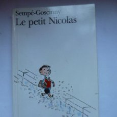 Libros: LE PETIT NICOLAS. SEMPE GOSCINNY. FOLIO. Lote 45055426