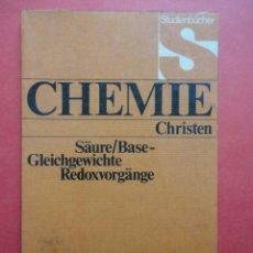 Libros: CHEMIE. CRHISTEN.. Lote 45728928