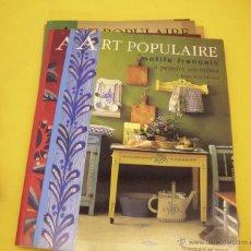 Libros: 6 LIBROS DE ARTE POPULAR EN MUEBLES.. Lote 46189629
