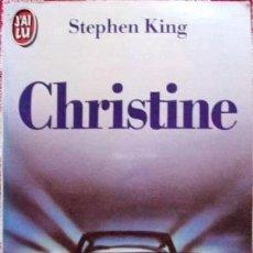 Libros: LIBRO CHRISTINE STEPHEN KING EN FRANCES EDICION DE BOLSILLO. Lote 46213044