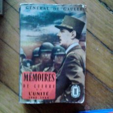 Libros: GENERAL DE GAULLE EN FRANCES. Lote 47185470