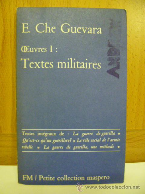 E CHE GUEVARA TEXTES MILITAIRES (EN FRANCES) (Libros Nuevos - Idiomas - Francés)