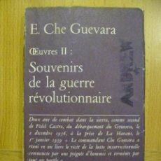 Libros: SOUVENIRS DE LA GUERRE RÉVOLUTIONNAIRE. E. CHE GUEVARA (EN FRANCES). Lote 47260120