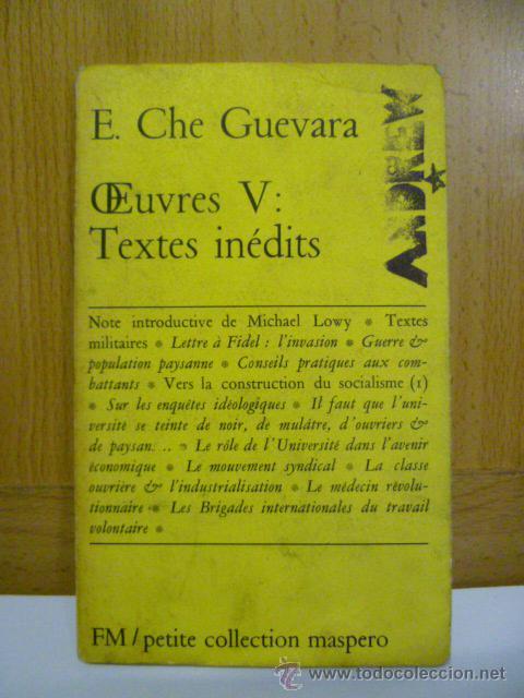 E,CHE GUEVARA - TEXTES INEDITS (EN FRANCES) (Libros Nuevos - Idiomas - Francés)