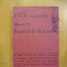 Libros: JOURNAL DE BOLIVIE - E. CHE GUEVARA (EN FRANCES). Lote 47260231