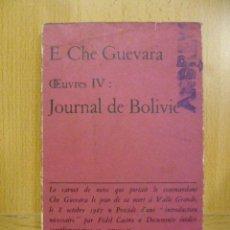 Libros: JOURNAL DE BOLIVIE - E. CHE GUEVARA (EN FRANCES). Lote 47260231