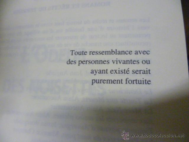 Libros: LOdeur des noisettes - Gilbert Dalet - (en frances - ver fotos) - Foto 2 - 47267379