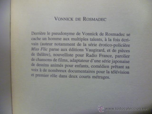 Libros: LES BONHEURS DE SOPHIE. - Vonnick de Rosmadec / POCKET (en frances) - Foto 2 - 47512820
