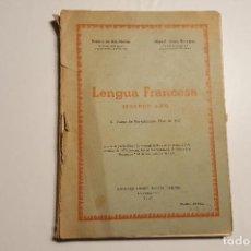 Libros: LIBRO DE CURSO DE FRANCÉS DEL AÑO 1957. Lote 82017780