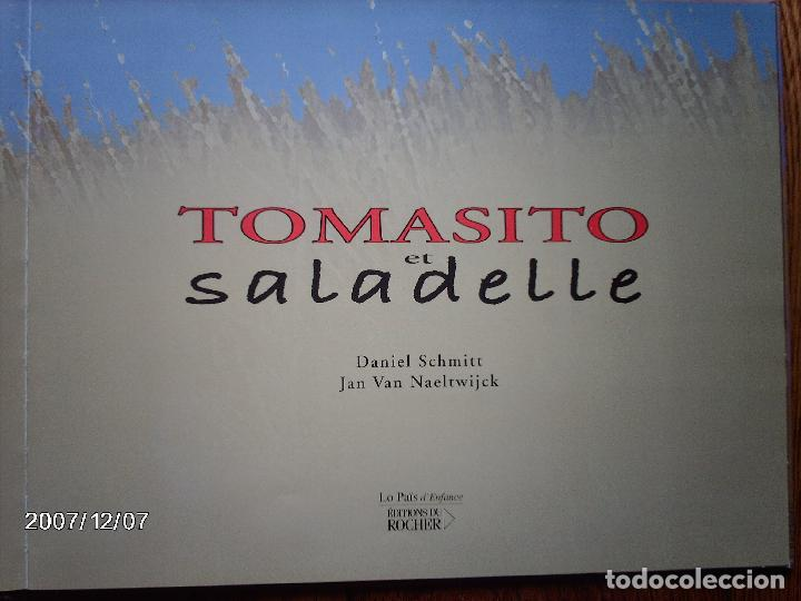 Libros: tomatito et saladelle - historia de un gitano y un toro - en frances - Foto 3 - 96899747