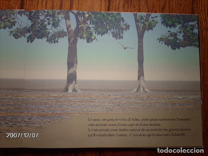 Libros: tomatito et saladelle - historia de un gitano y un toro - en frances - Foto 8 - 96899747