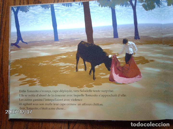 Libros: tomatito et saladelle - historia de un gitano y un toro - en frances - Foto 11 - 96899747