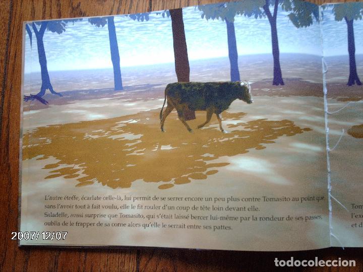 Libros: tomatito et saladelle - historia de un gitano y un toro - en frances - Foto 13 - 96899747