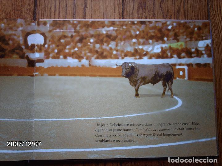 Libros: tomatito et saladelle - historia de un gitano y un toro - en frances - Foto 18 - 96899747