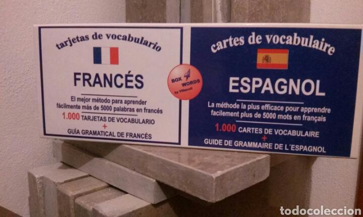 CARTAS DE VOCABULARIO BILINGÜES FRANCÉS/ ESPAÑOL (Libros Nuevos - Idiomas - Francés)