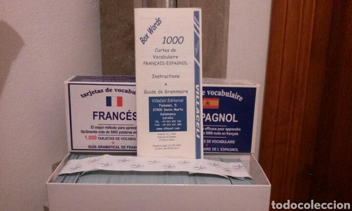 Libros: Cartas de vocabulario bilingües francés/ español - Foto 3 - 112258018