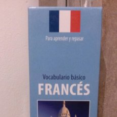 Libros: FICHAS DE VOCABULARIO DE FRANCÉS. Lote 112259587