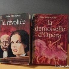 Libros: DOS JOYAS DE GUY DES CARS ( PARIS 1911 ). Lote 112737883