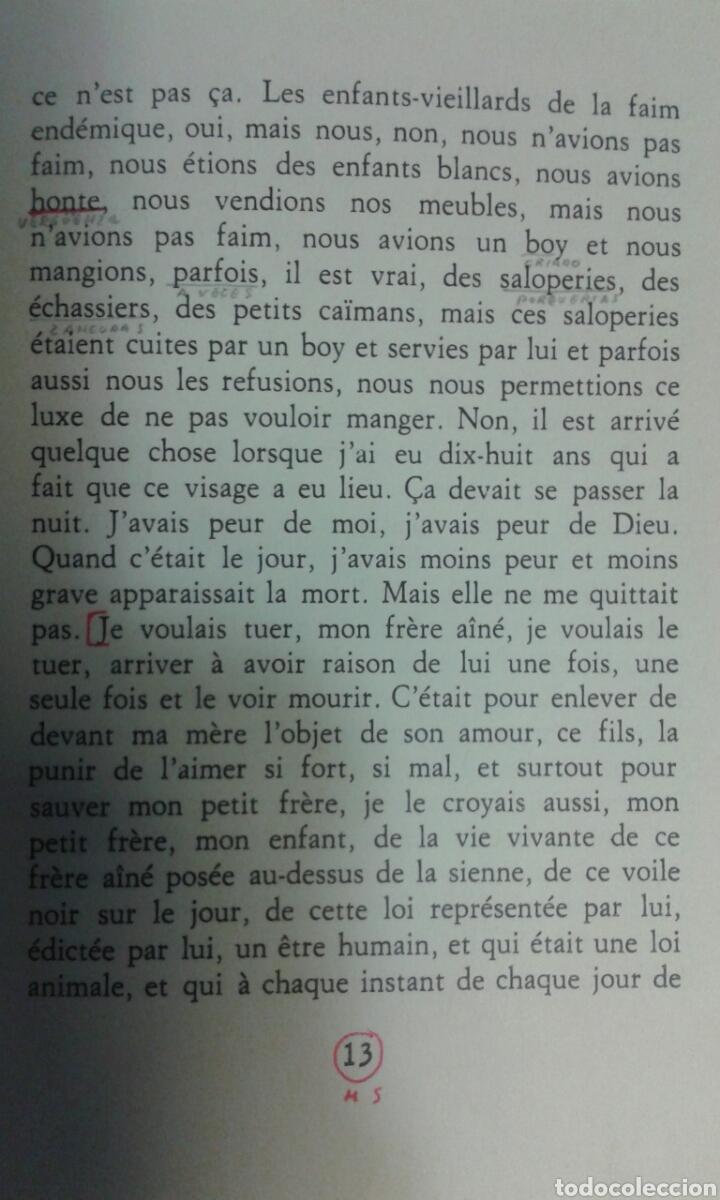 Libros: El amante,Marguerite Duras (en frances) - Foto 3 - 114914502