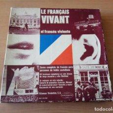 Libros: LE FRANCAIS VIVANT. EL FRANCÉS VIVIENTE. COMPLETO.. Lote 117060811