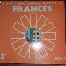 Libros: LIBRO FRANCÉS 2 ANAYA AÑO 1977 PÁGINAS 260. Lote 117429102