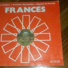 Libros: LIBRO FRANCÉS 1 DE ANAYA AÑO 1977 A ESTRENAR LIBRERIA ANTIGUA. Lote 117429366