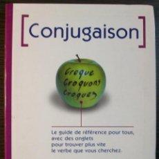Libros: CONJUGAISON. LE ROBERT & NATHAN. 1ª EDICION, 1996. Lote 118856183