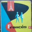 Libros: FRANCES. 2º EDITORIAL S.M. 1962. Lote 138121962