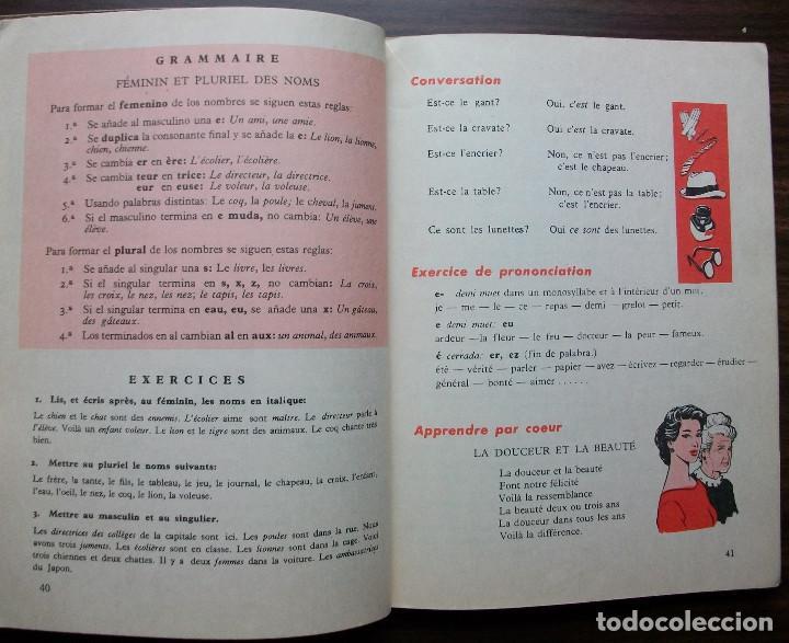 Libros: FRANCES. 2º EDITORIAL S.M. 1962 - Foto 3 - 138121962