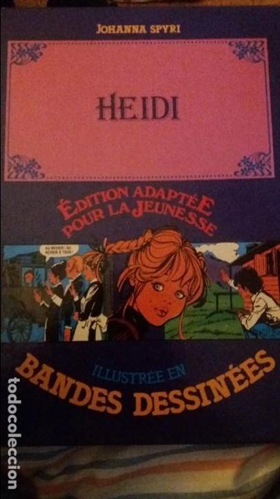 HEIDI.JOHANNA SPYRI.EDITION ADAPTEE POUR LA JEUNESSE.ILUSTREE EN BANDES DESSINEES.1982 (Libros Nuevos - Idiomas - Francés)