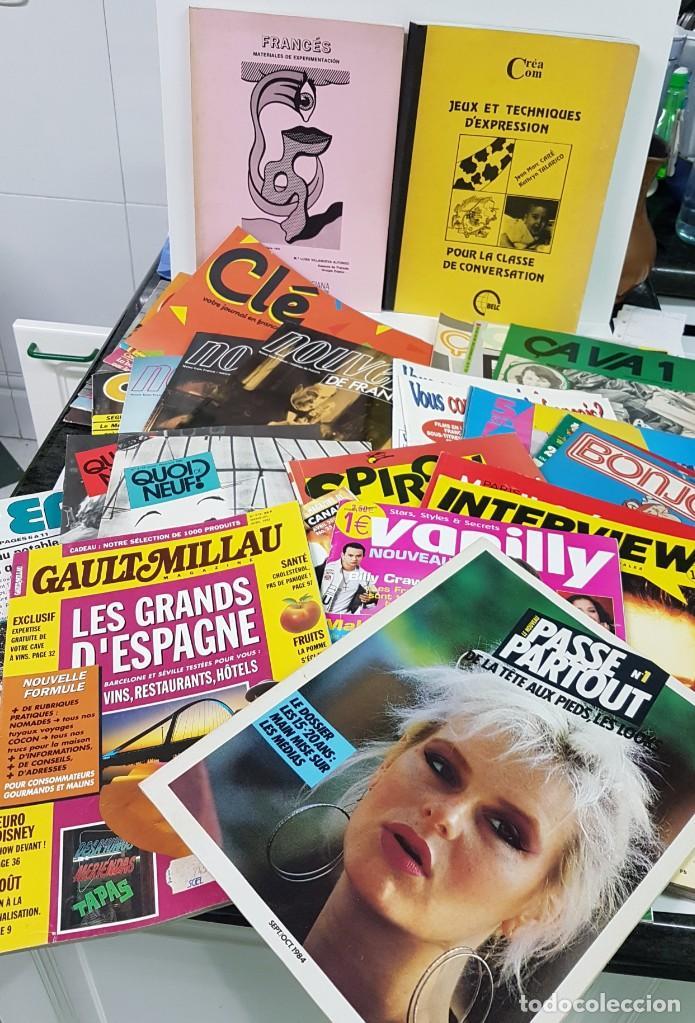 LOTE DE 20-25 REVISTAS PEDAGÓGICAS EN FRANCÉS (Libros Nuevos - Idiomas - Francés)