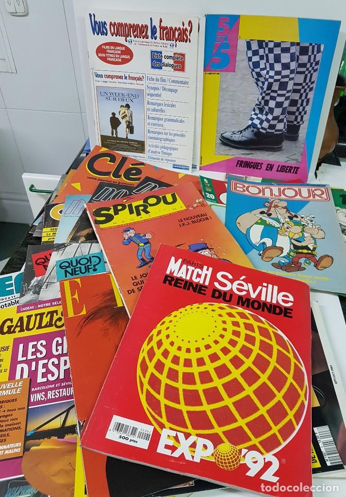 Libros: LOTE DE 20-25 REVISTAS PEDAGÓGICAS EN FRANCÉS - Foto 2 - 140554450