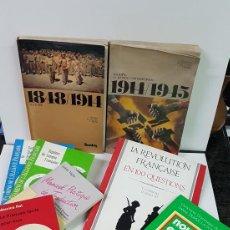 Libros: LOTE DE 11 LIBROS EN FRANCÉS DE CONTENIDO VARIADO,.. Lote 140602410