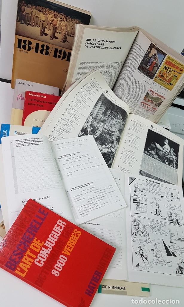 Libros: LOTE DE 11 LIBROS EN FRANCÉS DE HISTORIA, GRAMÁTICA, TRADUCCIÓN, DIPLOMA DE ALLIANCE FRANÇAISE.... - Foto 2 - 140602410
