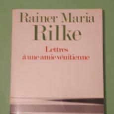 Libros: LIBRO LETTRES À UNE AMIE VÉNITIENNE. Lote 140931038