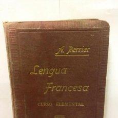 Libros - STQ.ALPHONSE PERRIER.LENGUA FRANCESA CURSO ELEMENTAL.EDT, BARCELONA.. - 145944290