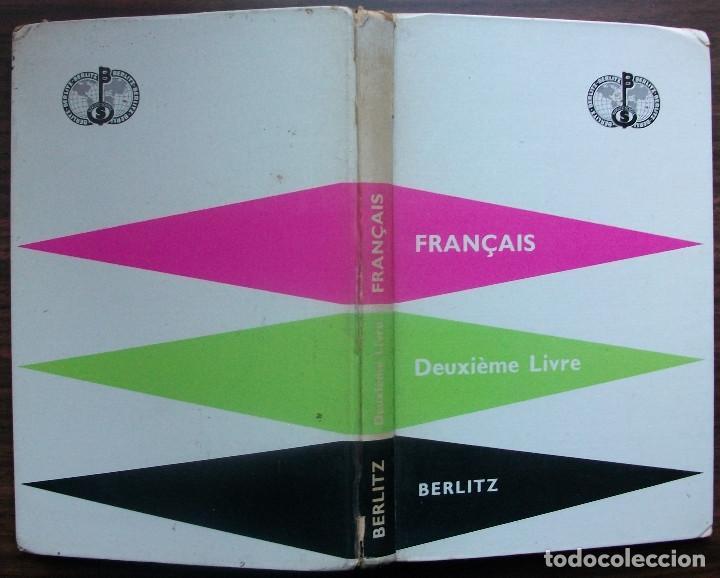 Libros: FRANÇAIS. DEUXIÈME LIVRE. BERLITZ. 216ª EDITION 1960 - Foto 5 - 147674918